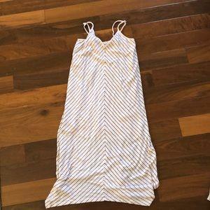 SPLENDID- Light pink striped maxi dress *sz xs*